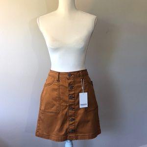 Kensie Jeans Saffron Skirt - 10